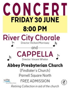 Concert @ Abbey Presbyterian Church | Dublin | County Dublin | Ireland