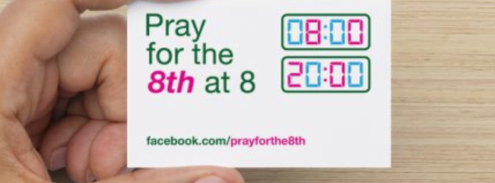 Pray for the 8th at 8