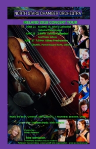 North Stars Chamber Orchestra @ Abbey Presbyterian Church | Dublin | County Dublin | Ireland